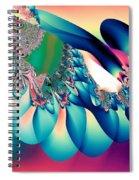 Fractal Abstract 001 Spiral Notebook