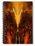 Fractal Abstract 15-01 Spiral Notebook