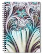 Fractal Abstract Fantasy Flower Garden 2 Spiral Notebook