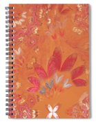 Fractal - Abstract - Japanese Motif Spiral Notebook