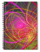 Fractal - Abstract - Loopy Doopy Spiral Notebook