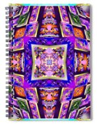 Fractal Ascension Spiral Notebook