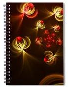 Fractal Dream Catcher Spiral Notebook