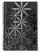 Fractal Flakes Spiral Notebook