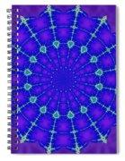 Fractal Gateway Sixteen Spiral Notebook