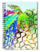 Fractal - Hummingbird Spiral Notebook