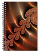 Fractal Ikarus Spiral Notebook