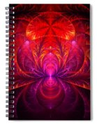 Fractal - Jewel Of The Nile Spiral Notebook