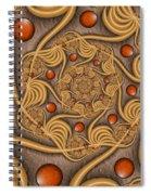 Fractal Jewelry Spiral Notebook