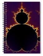 Fractal Mandelbrot Seamless Spiral Notebook