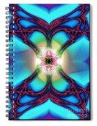 Fractal Nouveau Spiral Notebook