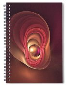 Fractal Oyster-1 Spiral Notebook
