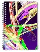 Fractal - Pussy Willows Spiral Notebook