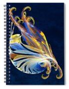 Fractal - Sea Creature Spiral Notebook