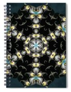 Fractal Seahorses Spiral Notebook