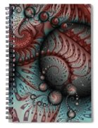 Fractal Somewhere 2 Spiral Notebook