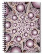 Fractal Stars Spiral Notebook