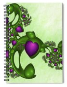 Fractal Tears Of Joy Spiral Notebook