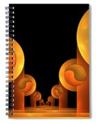 Fractal The Hall Spiral Notebook