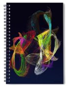 Fractal - Tropical Fish Spiral Notebook
