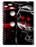 Fractalius Dice Spiral Notebook