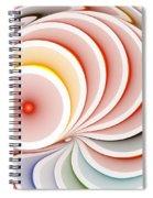 Fractals Spiral Notebook