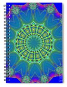 Fractalscope 2 Spiral Notebook