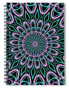 Fractalscope 21 Spiral Notebook