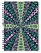 Fractalscope 25 Spiral Notebook
