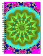 Fractalscope 28 Spiral Notebook
