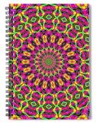 Fractalscope 7 Spiral Notebook