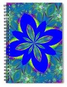 Fractalscope 9 Spiral Notebook