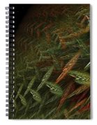 Fragile Biosphere Spiral Notebook
