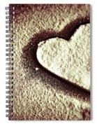Imprint On My Heart Spiral Notebook