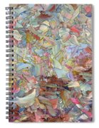 Fragmented Hill Spiral Notebook