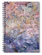 Fragmented Sea - Square Spiral Notebook