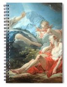 Fragonard's Diana And Endymion Spiral Notebook