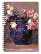 Fragrant Rose Petals Spiral Notebook