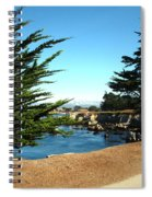 Framed By Cypress Trees Spiral Notebook