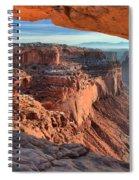 Framed Canyon Spiral Notebook