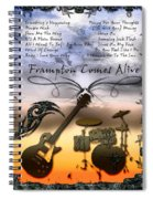 Frampton Comes Alive Spiral Notebook
