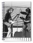 Jamming In Oakland 1976 Spiral Notebook