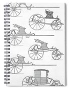 France Carriages, C1740 Spiral Notebook
