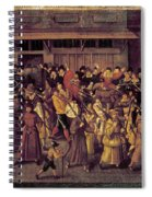 France Catholic League Spiral Notebook