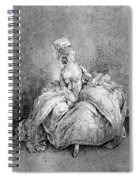France Court Life, 1778 Spiral Notebook