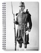 France Grenadier, 1860 Spiral Notebook