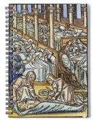 France: Hospital, C1500 Spiral Notebook
