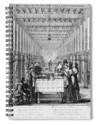 France: Hospital, C1635 Spiral Notebook