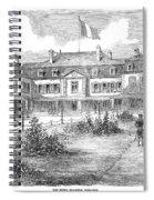 France Hotel Brighton Spiral Notebook