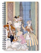 France In The 18th Century Spiral Notebook